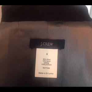 J. Crew Black Coat